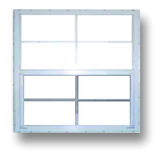 "30""x30"" Window With Grid"